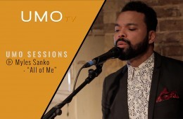 "Myles Sanko - ""All Of Me"" (John Legend cover) 