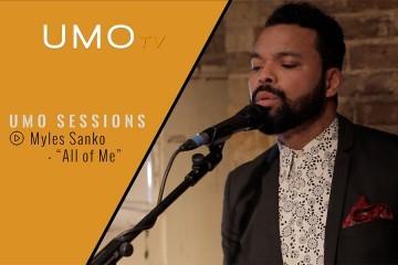 "Myles Sanko - ""All Of Me"" (John Legend cover) | UMO SESSIONS"