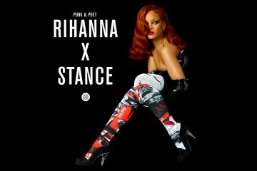 Rihanna lanza su colección de calcetines STANCE   LifeStyle   UMOMAG