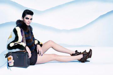 Kendall Jenner, fotografiada por Karl Lagerfeld para la nueva campaña de FENDI | LifeStyle | UMO Magazine