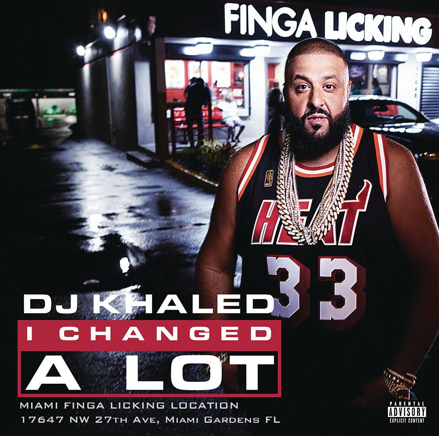 Portada y tracklist del álbum I CHANGED A LOT de DJ Khaled | Noticias | UMOMAG