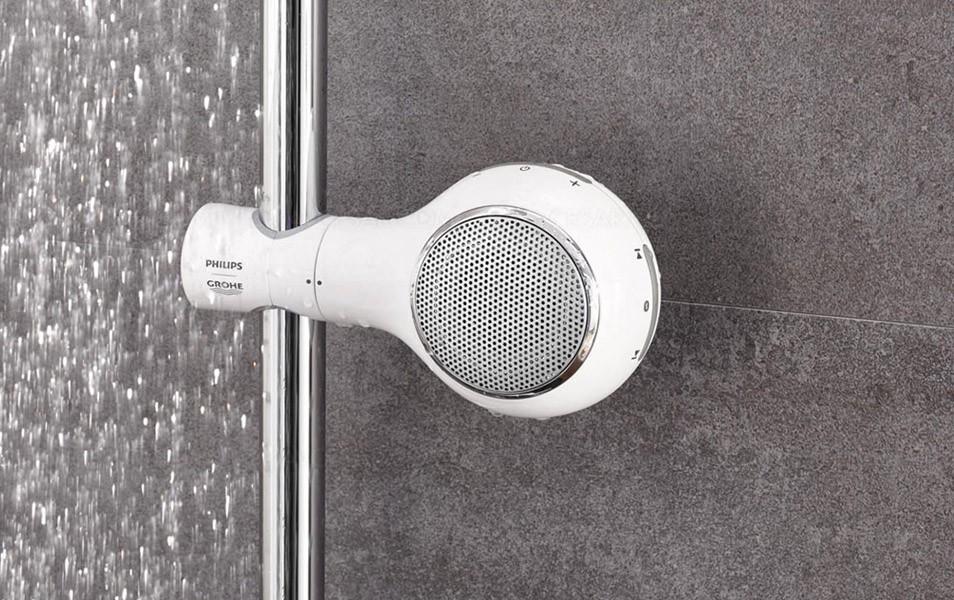 M sica bajo la ducha con aquatunes lo ltimo de philips sound y grohe umo magazine - Canciones para la ducha ...
