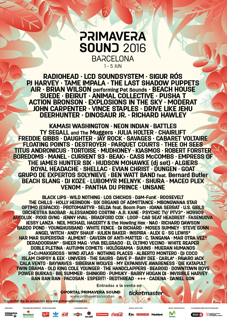 Line-up Primavera Sound 2016_jerarquico_cast