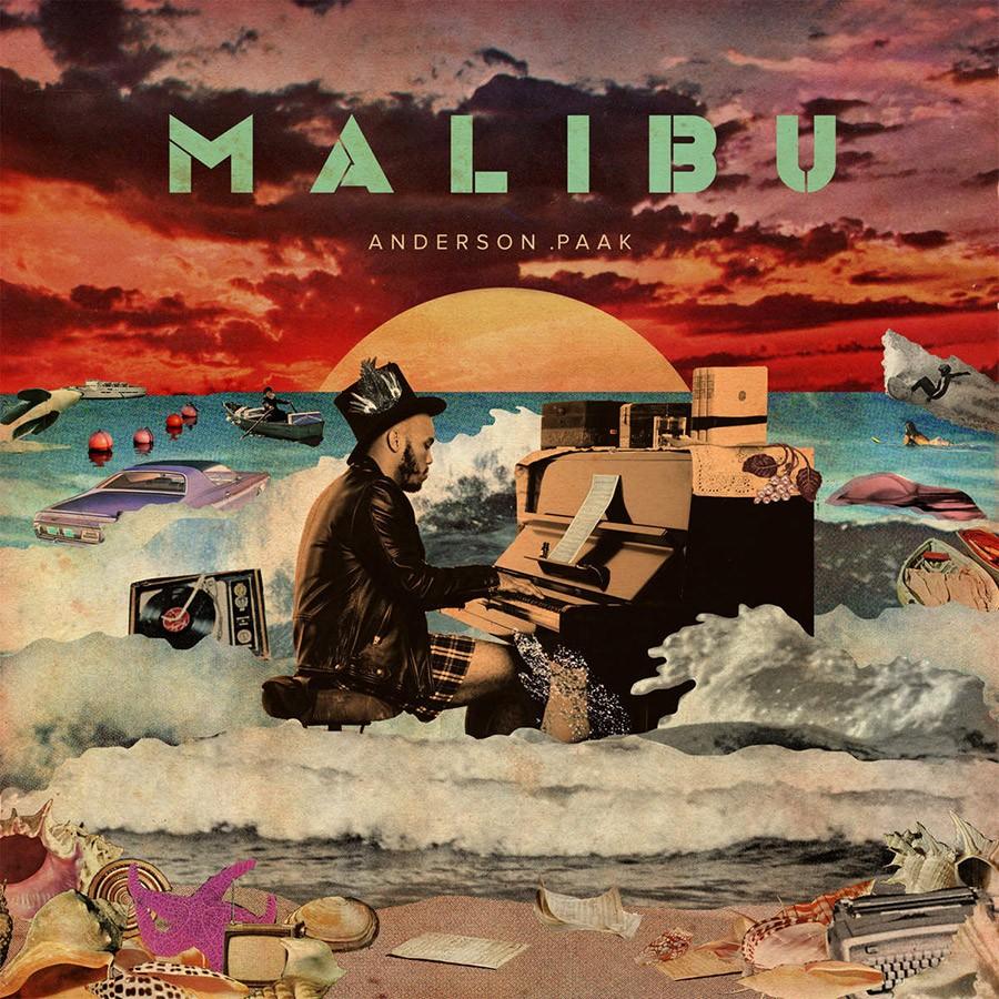 Portada y tracklist del álbum MALIBU de Anderson .Paak | Noticias | UMOMAG