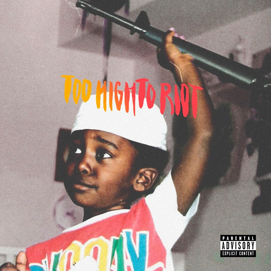 Bas - TOO HIGH TO RIOT | Discos | UMOMAG