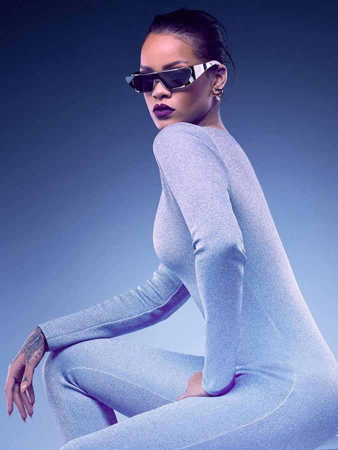 Rihanna y Dior presentan una colección futurista de gafas de sol