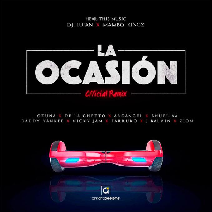 audio varios artistas la ocasion remix trap urban latino musica umomag