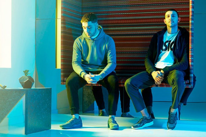 noticia majid jordan asics tiger sneakers tendencias lifestyle urban umomag