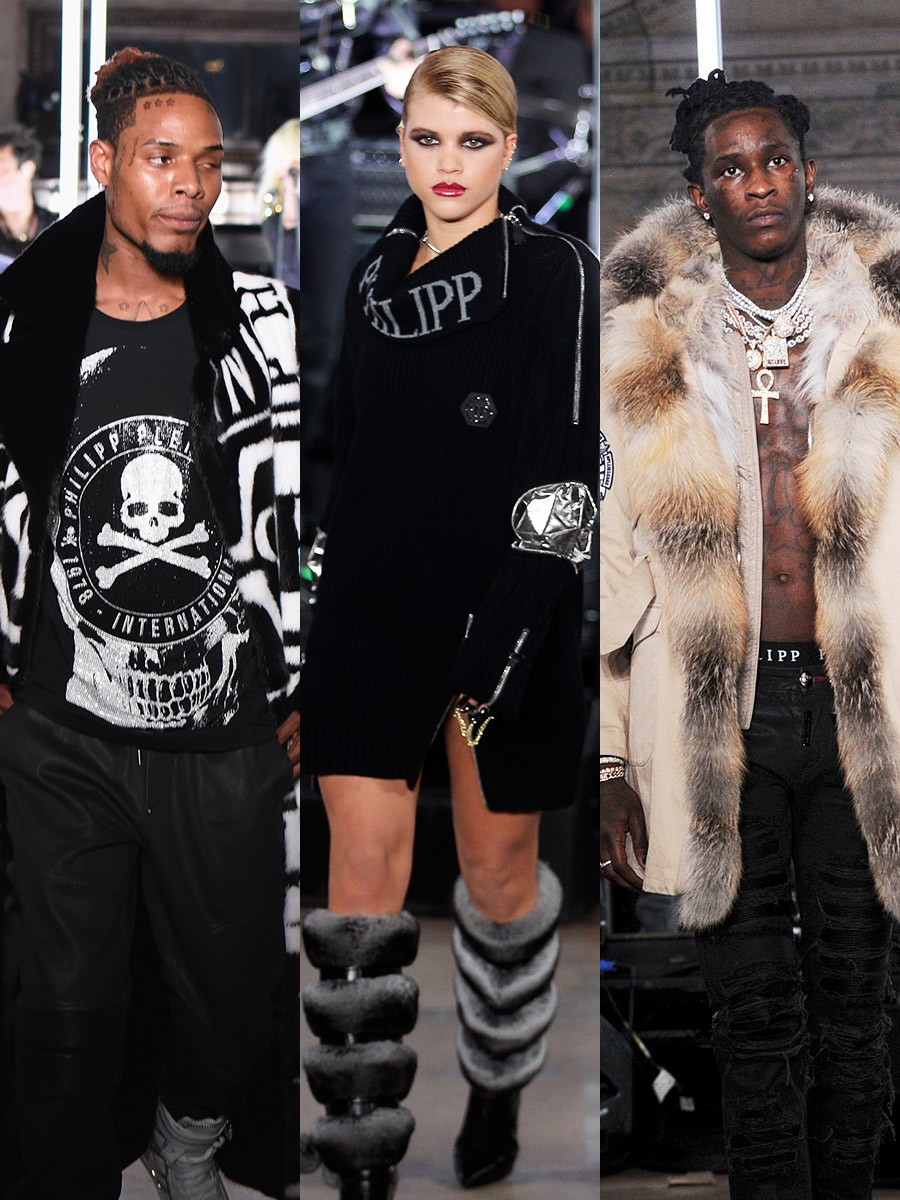 noticia fetty wap young thug sofia richie phillip plein tendencias lifestyle nyfw umomag