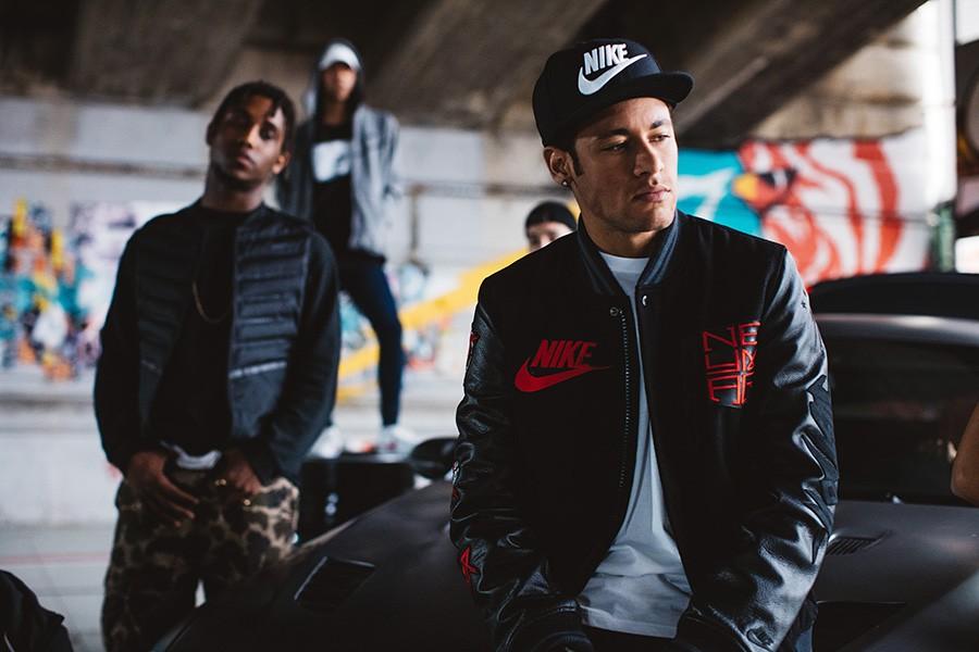 """Neymar y Nike lanzaron un """"mixtape"""""""