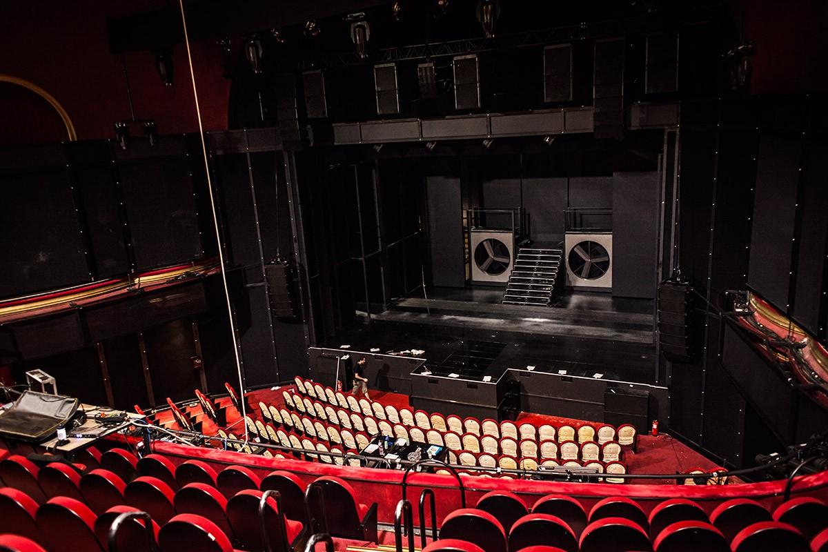 Nos colamos en los ensayos de 39 el guardaespaldas 39 y hablamos con fela dom nguez umo magazine - Teatro coliseum madrid interior ...