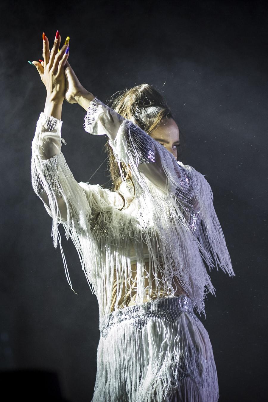 La catalana Rosalia derrochó pasión y poder en el festival Cultura Inquieta de Madrid