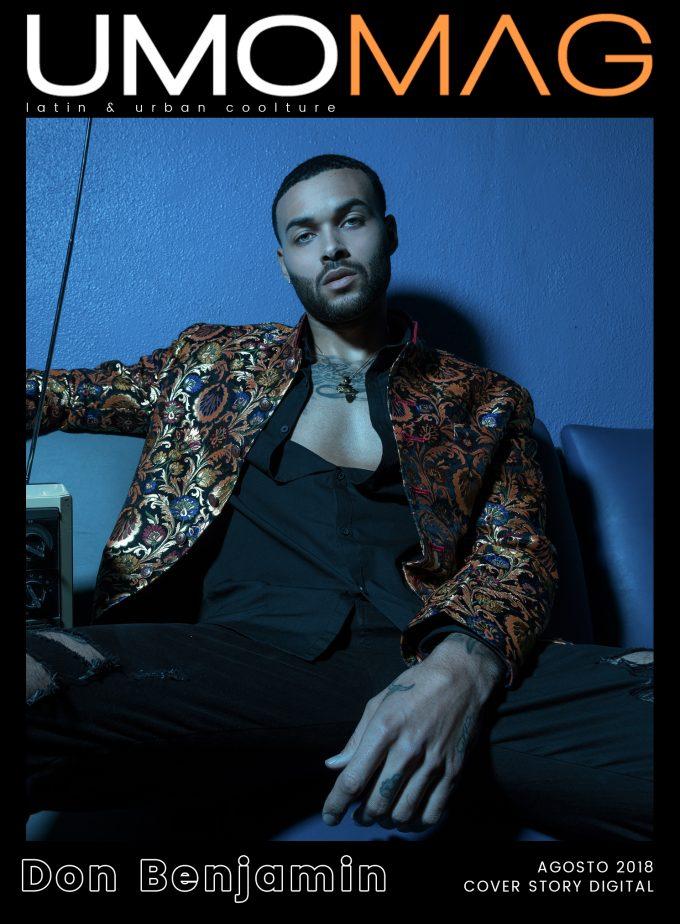El rapero, modelo y actor americano Don Benjamin ocupa la Cover Story digital del mes de Agosto en UMOMAG