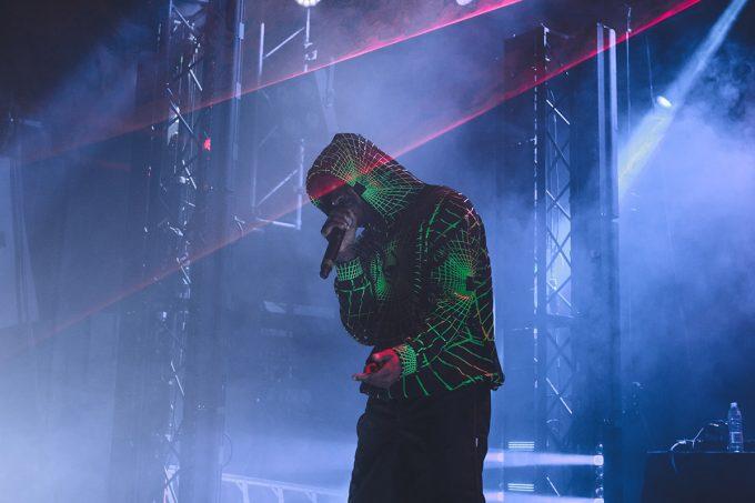 La gran estrella británica de Grime arrancó su gira europea 'SK Level' a lo grande en la capital de España