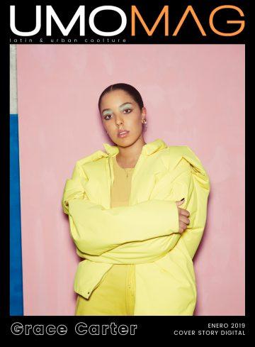 La vocalista inglesa ocupa la doble portada digital