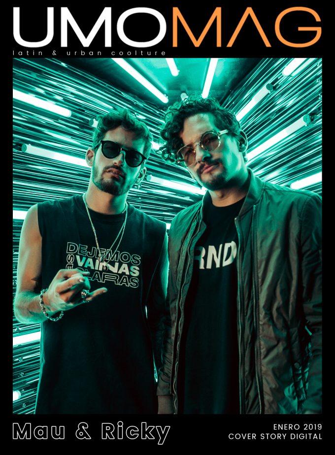 Los hermanos Montaner ocupan la doble Cover Story digital del mes de Enero en UMOMAG