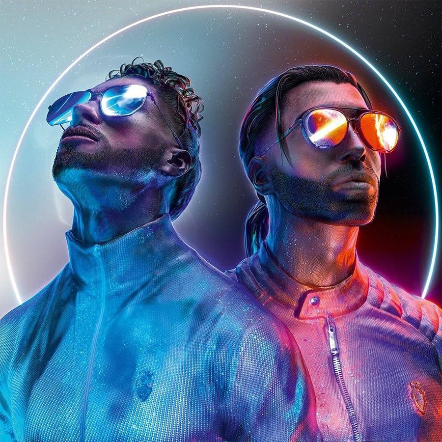 Portada oficial del álbum 'Deux Frères' de PNL