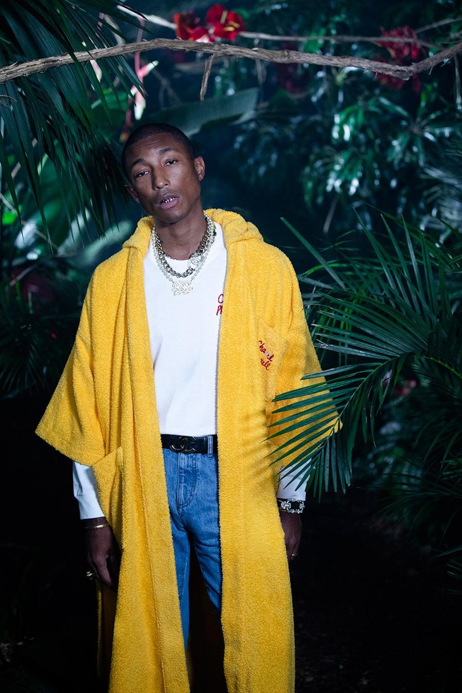 El músico americano y la casa de moda francesa unifican sus dos mundos